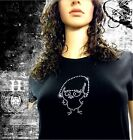 T Shirt Femme Hell Head  Caliméro en STRASS , Mode, Vintage, Fashion, Original