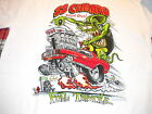Rat Fink SS Camaro General Motors 60's muscle car Ed Roth white t shirt M-XXX
