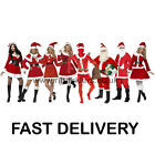 Santa Costume Male Female Christmas Costumes Xmas Father Christmas FAST DELIVERY