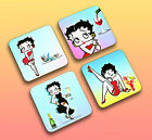 Betty Boop Personalised Coasters  Set of 4 or individually  Exclusive designs £2.2 GBP