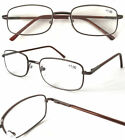 L45 Metal Reading Glasses Spring Hinges +100+125+150+175+200+225+250+275+300+350