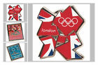 OFFICIAL LONDON OLYMPICS 2012 METAL MAGNET AND PIN BADGE
