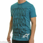 ALPINESTARS cotton t shirt ~ Activate  (blue heather)