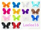 "Внешний вид - 12"" x 10 3/4"" Butterfly Angel Fairy Wing for Baby Infant Toddler Child Costume"