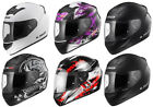 LS2 FF351 FF352 FULL FACE MOTORCYCLE MOTORBIKE HELMET SOLID WOLF FLUTTER ROOKIE