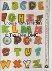 VAT Free Pronty Fun Sewing Iron On Motif Letters Trimmings New Letter A - Z
