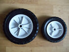 BLACK TYRE WHITE CENTRE WHEELS TOY BOX MOBILE TOY TROLLEY CART ARTS CRAFTS