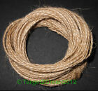 10m 20m 40m Soft Natural Brown Rustic Burlap Jute String Sisal Twine Cord Crafts