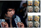 ELVIS Aloha Horseshoe CONCERT Ring with CZ