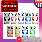 CUTE SILICONE PANDA SOFT CASE FOR IPHONE 4 4G 4S SAFARI GEL COVER ANIMAL SKIN