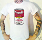 Andy Warhol Soup Can T-Shirt New (8 SIzes) Velvet Underground Pop Art
