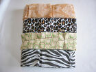 Pack of 4 Animal Jungle Safari Print Crepe Paper Streamer Party Decoration