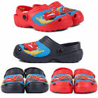 NEW BOYS KIDS OFFICIAL DISNEY CARS LIGHTNING MCQUEEN SANDAL SHOES COMFY UK SIZES