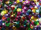 5 Grams 7mm Cup Sequins Red/Black/Blue/Pink/Gold/Silver/Mixed Job Lot Craft Kit
