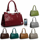New Designer Fashion Faux Leather Expandable Womens Rectangular Shoulder Handbag