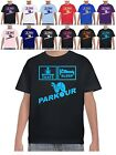 Kids Parkour T Shirts Eat Sleep T Shirts Freerunning TShirt All Sizes PK FR