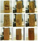 New Real Genuine Natural Bamboo Wood Wooden Case Protector Cover For iPhone 5 5G