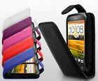 NEW STYLISH HTC DESIRE C FLIP CASE + FREE SCREEN PROTECTOR
