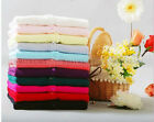 Women's V-neck Knitted Cardigan Sweater Long Sleeve Tops Candy-Colored A7191