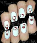 30 HELLO KITTY NAIL ART DECALS STICKERS /TRANSFERS PARTY FAVORS MIX AND MATCH