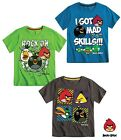 New Boys Official ANGRY BIRDS Top T- Shirt Age 3 4 5 6 7 8 9 10 11 12 Years BNWT