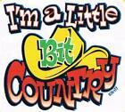 I'M A LITTLE BIT COUNTRY Music Cowboy White Creeper Newborn To 24 Months