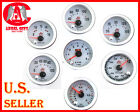 "UNIVERSAL 2 5/8"" TACH,SPEEDOMETER,OIL PSI,WATER TEMP,VOLT,BOOSTS,VACUUM GAUGE"
