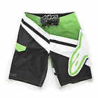 BRAND NEW W/ TAGS 2015 Alpinestars INVINCIBLE Boardshort GREEN 32-40 LIMITED