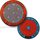 Optical Illusion Geocoin For Geocaching - 2 Designs Available - Travel Bug