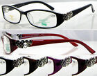 L286 Memory Plastic TR90 Optical Reading Glasses/Metal Heart Detailed On Arms