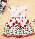 baby girls summer,holidays dress 6-12-18-24 mnths new LEAFY FLORA girls clothes