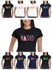 Wasted T shirt Dope Funny Indie Swag Coke Youth Hipster Punk Fluorescent Prints