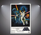 Star Wars Vintage Classic Movie Poster - A0 A1 A2 A3 A4 sizes $3.21 CAD on eBay