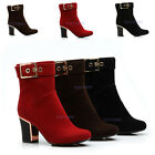 High Quality Women'sHigh Heels Comfort Ankle Shoes Zipper Boots US Sz 4-7.5 Y248