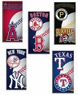 "MLB Baseball Beach Bath Pool Towel 30""x60"" Pick Team"