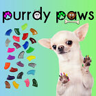 10 Pack Soft Nail Caps For Dog Claws * Purrdy Paws * USA * 14 Glitter Colors
