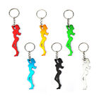 Sexy Silhouette Woman Keyring / Bottle Opener