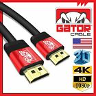 High Speed HD HDMI 4K Cable 1.4 3D 1080P Ethernet HDTV Bluray PS4 Xbox One Lot
