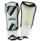 NEW LOCUS MENS ADULTS TRAINIG FOOTBALL RUGBY SHIN PADS AND ANKLE PROTECTORS