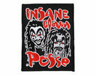 INSANE CLOWN POSSE  - OFFICIAL SEW-ON PATCH  logo patches hatchet jeckel wraith