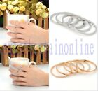 5PCS women Urban Gold/Silver stack Plain Above Knuckle Ring Band Midi Rings gift