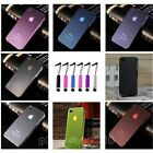 0.5mm Ultra Thin Slim Matte Frosted Hard Case Cover For iPhone 4 4GS 4S + Pen