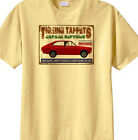 "Morris Marina Coupe ""Ticking Tappets Garage Services"" humour  t-shirt"