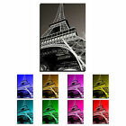Paris Eiffle Tower Landscape Canvas Art Print box framed Picture