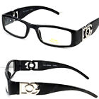 0c1324a7575 DG Eyewear Clear Lens Glasses Fashion Mens Womens Designer Rectangular  Frame RX