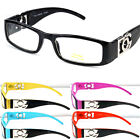 DG Eyewear Clear Lens Glasses Fashion Mens Womens Designer Rectangular Frame RX