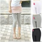 Women Lady Athletic / Yoga Sports Spandex Capri Footless Cotton Leggings Pants