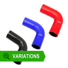ASH 90 Degree Silicone/Silicon Hose Elbow Bend - Rubber/Coolant/Radiator/Pipe