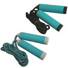 NEW CLASSICO STATS TRAINING GYM EXERCISE FITNESS ADJUSTABLE SKIPPING ROPE 7.5FT