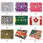 New 6 Pattern Design Matte Rubberized Hard Case Cover For  Macbook Air 11 inch